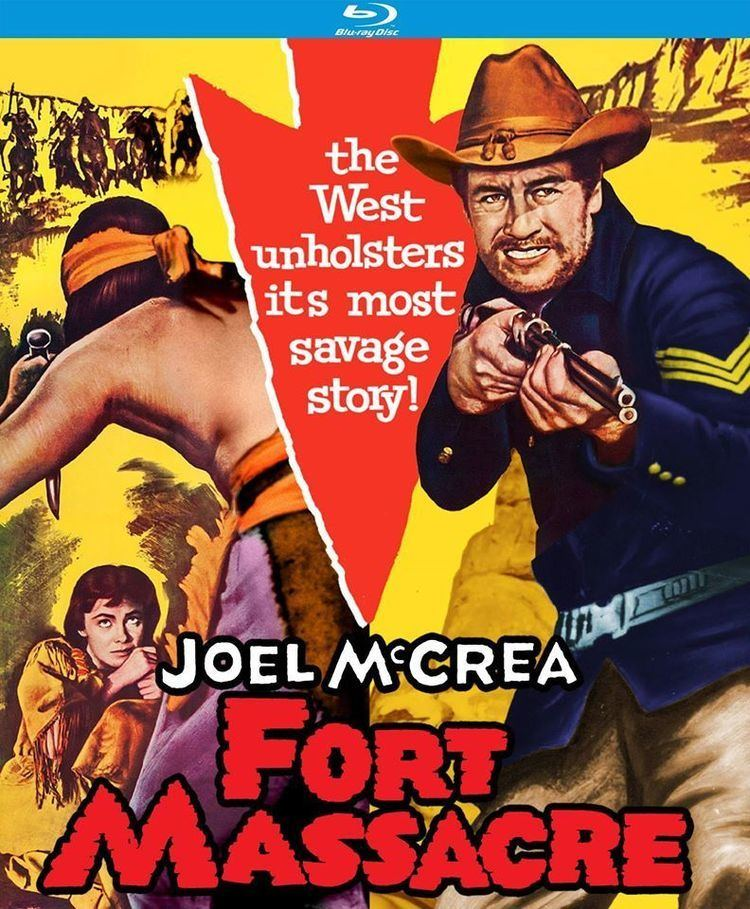 Fort Massacre Fort Massacre Bluray