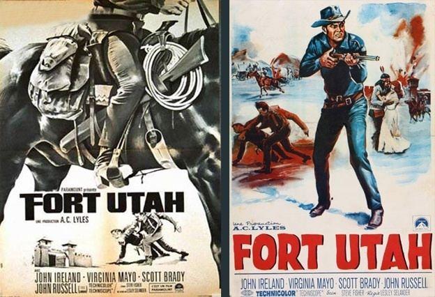 Fort Utah (film) Fort Utah Lesley Selander 1966 Encyclocin