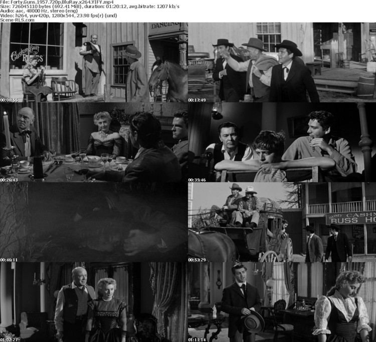 Forty Guns movie scenes Links Screenshot IMDB Forty Guns 1957