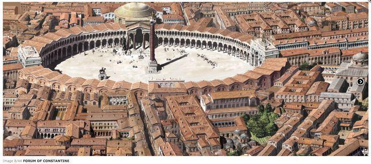 Forum of Constantine Column Of Constantine Istanbul Tour Studio Istanbul Guide