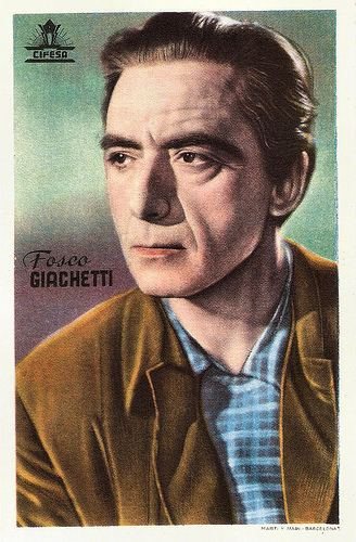 Fosco Giachetti European Film Star Postcards Fosco Giachetti