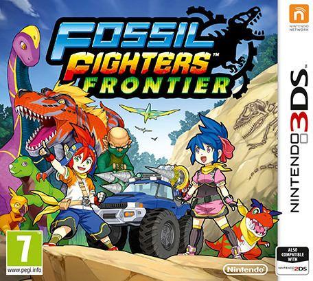 Fossil Fighters: Frontier Fossil Fighters Frontier Nintendo 3DS Games Nintendo