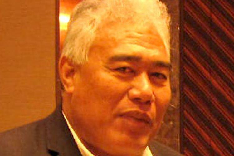 Foua Toloa Tongan MP and Global Ocean Commissioner Aliki Foua Toloa