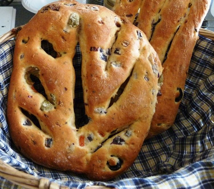 Fougasse (bread) Banner Photo Fougasse Bread ediblesubstance