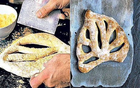 Fougasse (bread) Fougasse bread recipe by Richard Bertinet Telegraph