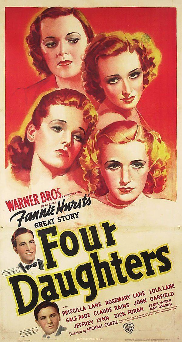 Four Daughters Four Daughters 1938 Claude Rains Priscilla Lane Lola Lane Gail