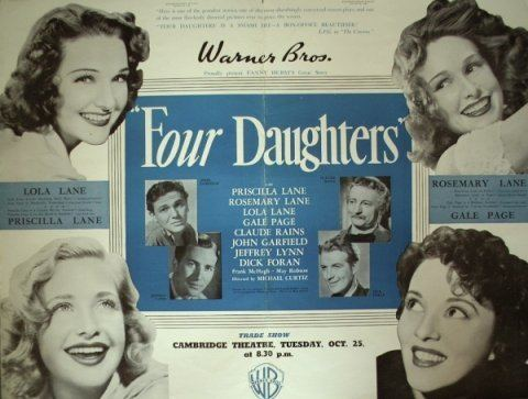 Four Daughters Series review Four Daughters Wives and Mothers The Motion Pictures