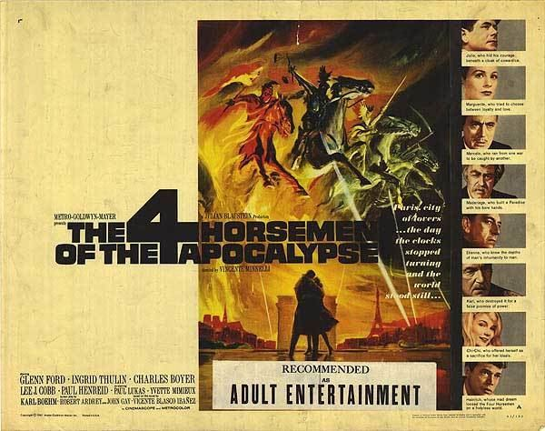 Four Horsemen of the Apocalypse (film) Four Horsemen of the Apocalypse film Wikipedia