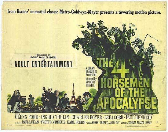 Four Horsemen of the Apocalypse (film) Four Horsemen Of The Apocalypse movie posters at movie poster