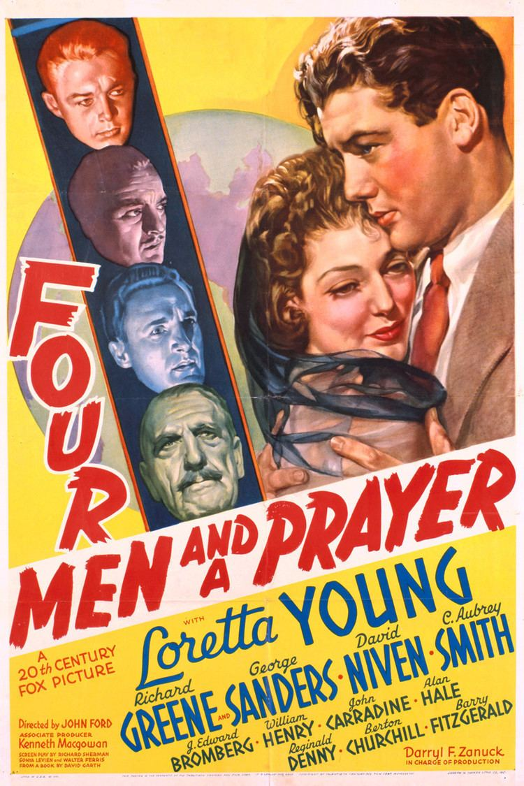 Four Men and a Prayer wwwgstaticcomtvthumbmovieposters7546p7546p