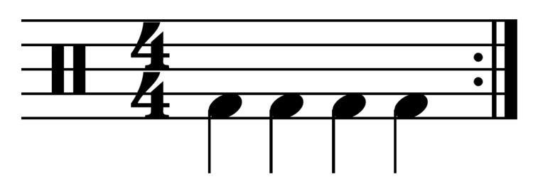 Four on the floor (music)