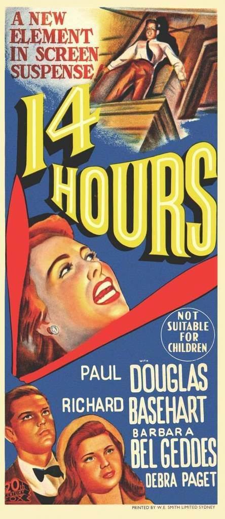 Fourteen Hours CLASSIC MOVIES FOURTEEN HOURS 1951
