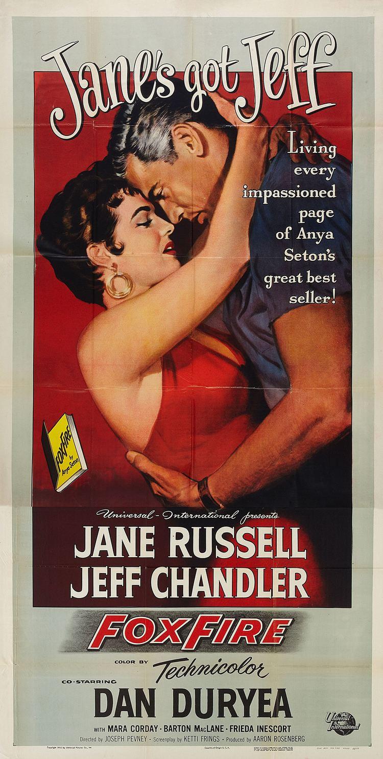 Foxfire (1955 film) Foxfire 1955