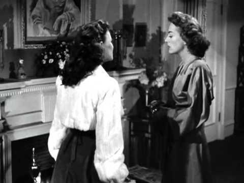 Framed (1947 film) movie scenes Possessed 1947 Joan Crawford Scene 6 The Starcase Scene