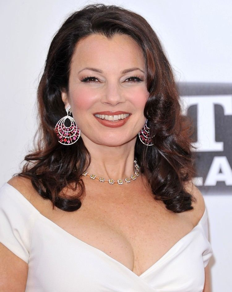 Fran Drescher Fran Drescher using her real voice in a scene of The Nanny
