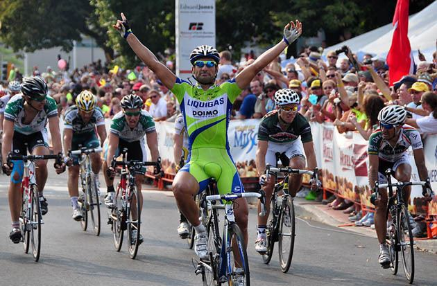 Francesco Chicchi Francesco Chicchi Wins The Tour of Missouri 6th Stage By Force