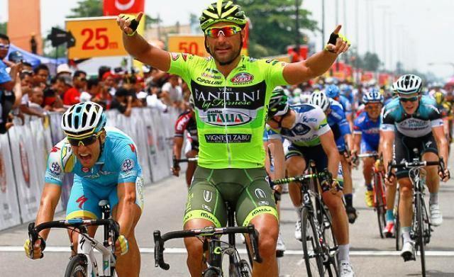 Francesco Chicchi Ciclismo Vini Fantini Selle Italia Francesco Chicchi fa