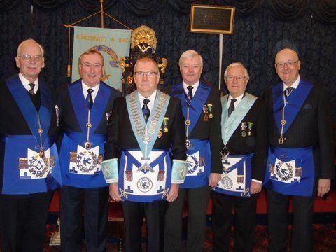 Francis Columbine Francis Columbine Lodge Celebrate 600 Meetings Cheshire Freemasonry