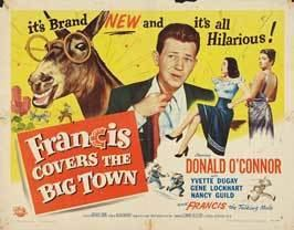 Francis Covers the Big Town Francis Covers the Big Town Movie Posters From Movie Poster Shop