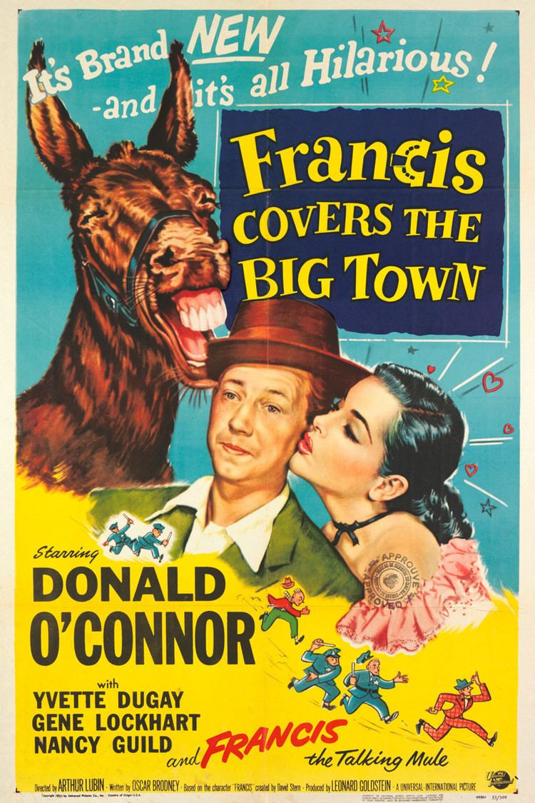 Francis Covers the Big Town wwwgstaticcomtvthumbmovieposters37983p37983