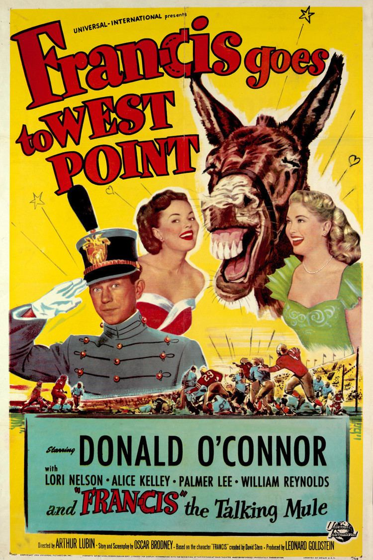 Francis Goes to West Point wwwgstaticcomtvthumbmovieposters38191p38191