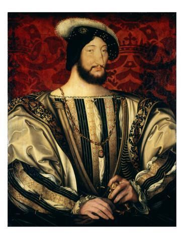 Francis I of France Francis I c1525 14941547 King of France Giclee Print