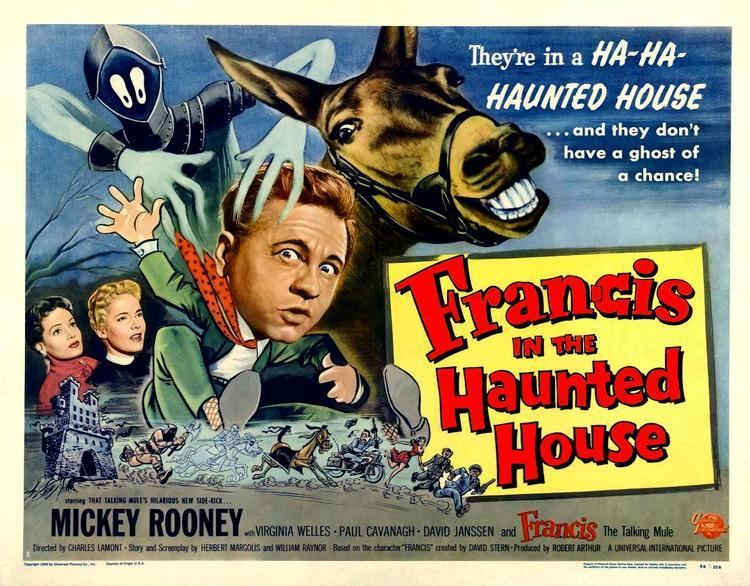 Francis in the Haunted House Francis in the Haunted House 1956 HORRORPEDIA