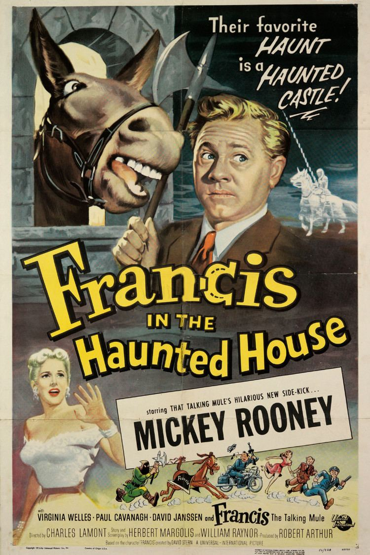 Francis in the Haunted House wwwgstaticcomtvthumbmovieposters38291p38291