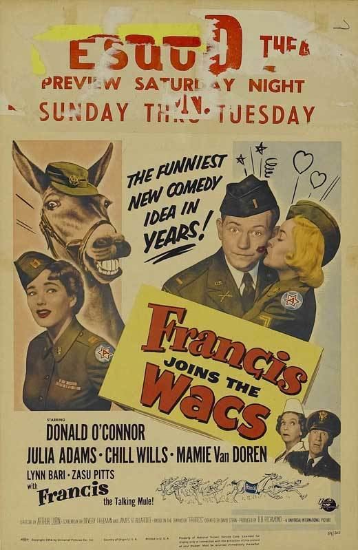 Francis Joins the WACS Francis Joins the WACs Movie Posters From Movie Poster Shop