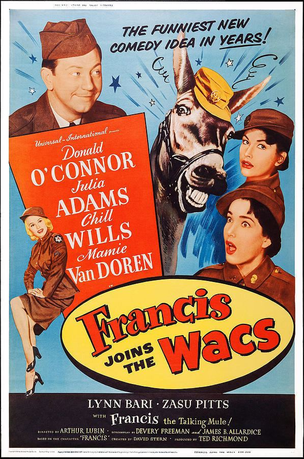 Francis Joins the WACS Francis Joins the WACS 1954 Arthur Lubin Donald OConnor Julie