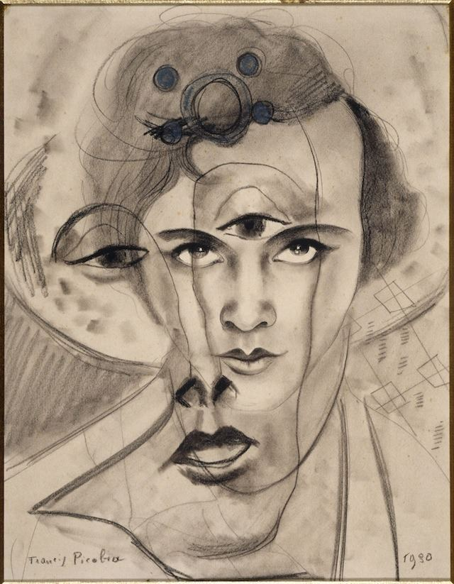 Francis Picabia A Veblenesque Gorge Olga by Francis Picabia 1930