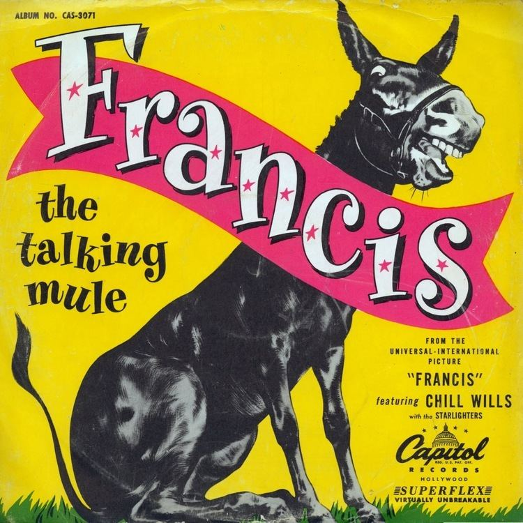 Francis the Talking Mule The Talking Mule Molly Francis Find A Grave Memorial
