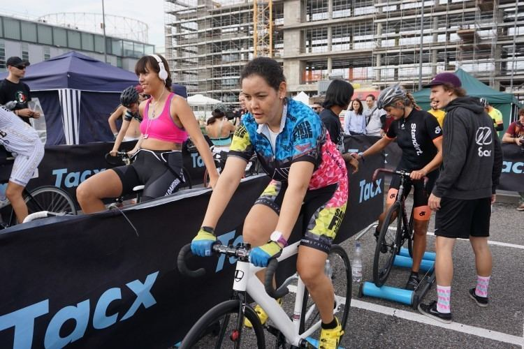 Francisca Campos Francisca Campos the last addition to the team RAW Cycling Team