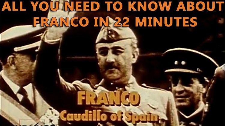 Francisco Franco Franco Caudillo of Spain YouTube