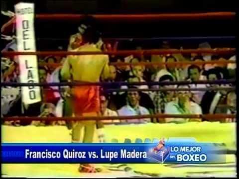 Francisco Quiroz LO MEJOR DEL BOXEO FRANCISCO QUIROZ ARGENIS LOPEZ JAVIER FORTUNA