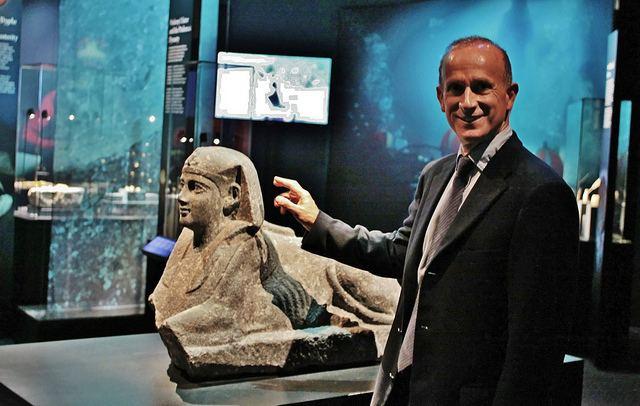 Franck Goddio Franck Goddio devela el pasado de Egipto que yace en el
