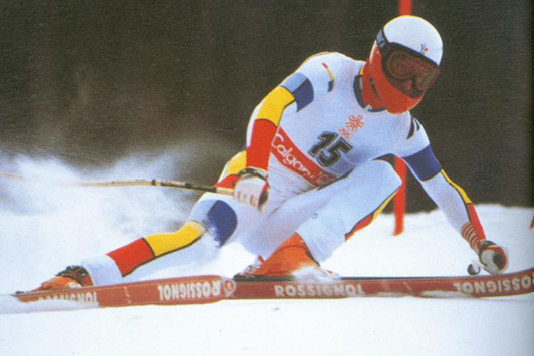 Franck Piccard FranckPiccardCalgary1988png