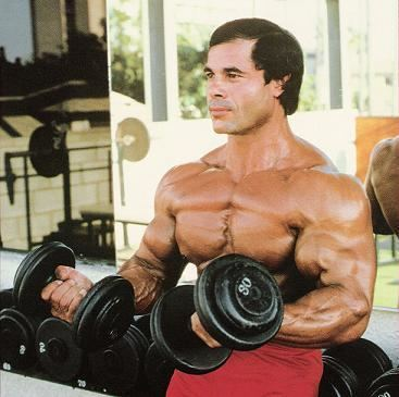 Franco Columbu Five Principles to Achieve Maximal Arm Mass and Strength