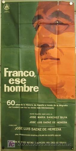 Franco, ese hombre dq07 francisco franco ese hombre dictador espa Comprar Carteles y