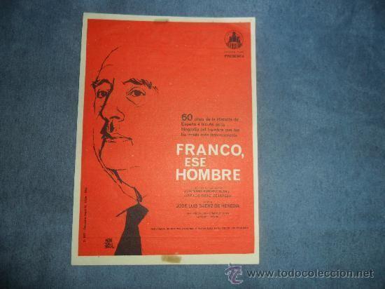 Franco, ese hombre franco ese hombre 1964 documental 60 aos de Comprar