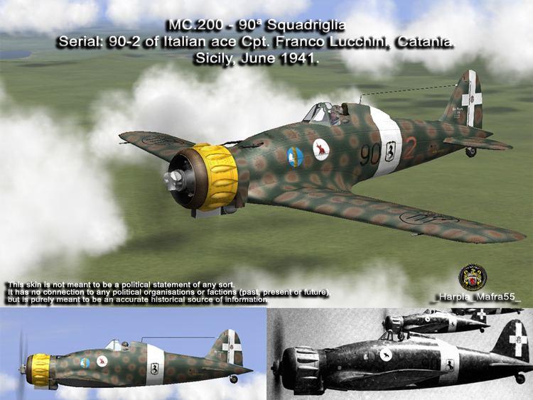 Franco Lucchini Asisbiz IL2 HM MC200 4S9G90Sa 90 2 Franco Lucchini Sicily 1941V0A