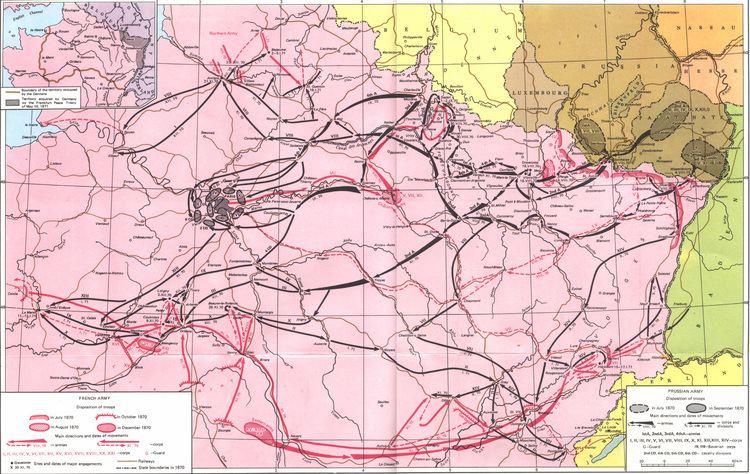 Franco-Prussian War FrancoPrussianWarcom History of the Frando Prussian War