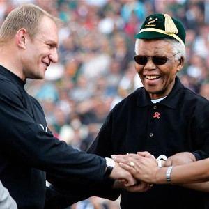 Francois Pienaar Pienaar remembers Madiba SuperSport Rugby