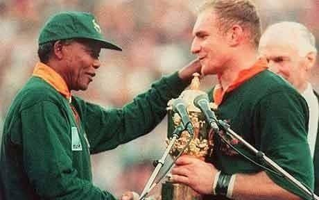 Francois Pienaar Hollywood gets it wrong over Nelson Mandela and Francois