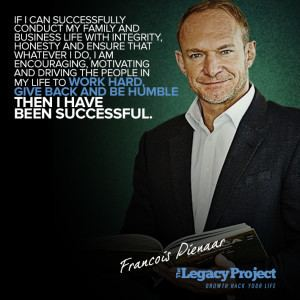 Francois Pienaar Francois Pienaar Retired South African Rugby Player Founder of