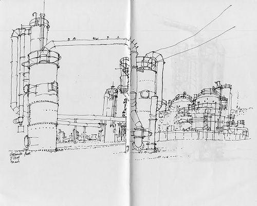 Frank Ching Urban Sketchers Symposium 2010 Portland Oregon USA