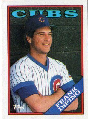 Frank DiPino CHICAGO CUBS Frank Dipino 211 TOPPS Orange Back 1988 MLB Baseball