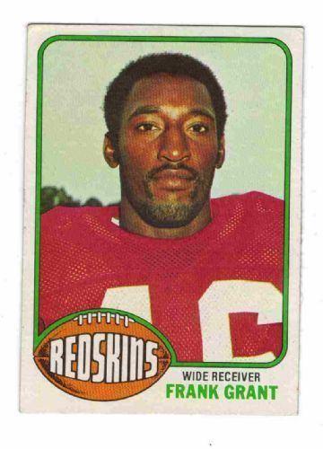 Frank Grant (American football) WASHINGTON REDSKINS Frank Grant 151 TOPPS 1976 NFL American