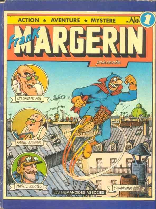 Frank Margerin Frank Margerin prsente BD informations cotes