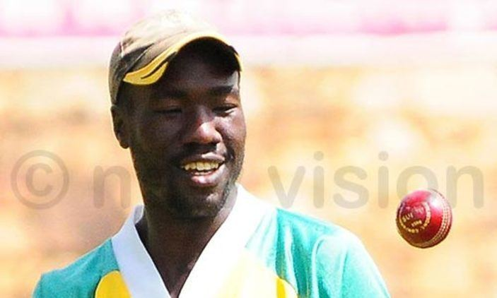 Frank Nsubuga Frank Nsubuga To Captain Cricket Team